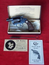 Colt Detective Special .38 in Original Box from 1934