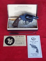 Colt Detective Special .38 in Original Box from 1934 - 2 of 20