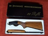 Browning .22 Auto Grade I Belgium in Box 99%