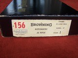 Browning .22 Auto Grade I Belgium in Box 99% - 2 of 19