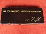 Browning .22 Auto Grade I Belgium in Box 99% - 3 of 19