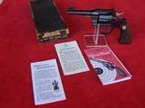"Colt Officers Model Target .38 with Rare 4"" Barrel in Original Box"