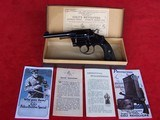 "Colt Police Positive Special 4"" Barrel .32-20 in the Original Box 99%"
