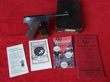Colt 1st Model Woodsman Sport .22 Caliber in Box with Paperwork