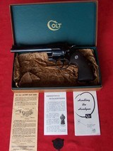 Colt Model 3 5 7 in the Box, 1st Year Production Chambered in .357 Magnum