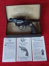 Colt 1st Model Detective Special .38 from 1947