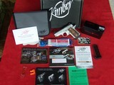 Kimber Micro 9 Raptor Custom Shop with Crimson Trace Laser Grips