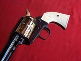 """USFA 12/22 SAA 5 1/2"""" Revolver with Nickel Cylinder & White HR Grips - 9 of 20"""