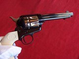 """USFA 12/22 SAA 5 1/2"""" Revolver with Nickel Cylinder & White HR Grips - 7 of 20"""