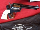 """USFA 12/22 SAA 5 1/2"""" Revolver with Nickel Cylinder & White HR Grips - 5 of 20"""