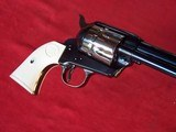 """USFA 12/22 SAA 5 1/2"""" Revolver with Nickel Cylinder & White HR Grips - 11 of 20"""