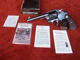 "Colt New Service Revolver .45 Colt with a 5 1/2"" Barrel in original Box"