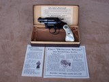 Colt Detective Special from 1936 with Pearl Grips and in the Original Box