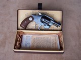 """Very Rare Colt 2"""" Pocket Positive .32 in the Box with Letter - 2 of 20"""