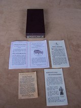 """Very Rare Colt 2"""" Pocket Positive .32 in the Box with Letter - 20 of 20"""