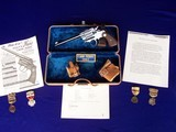 """Colt Camp Perry 8"""" with Factory Letter & Extras in a 1930's Travel Case - 1 of 20"""
