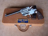 """Colt Camp Perry 8"""" with Factory Letter & Extras in a 1930's Travel Case - 20 of 20"""