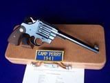 """Colt Camp Perry 8"""" with Factory Letter & Extras in a 1930's Travel Case - 3 of 20"""