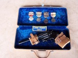 """Colt Camp Perry 8"""" with Factory Letter & Extras in a 1930's Travel Case - 18 of 20"""
