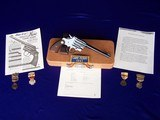 """Colt Camp Perry 8"""" with Factory Letter & Extras in a 1930's Travel Case - 2 of 20"""