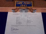 """Colt Camp Perry 8"""" with Factory Letter & Extras in a 1930's Travel Case - 4 of 20"""