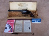 """Colt Officers Model Target 7 1/2"""" from 1925 in Original Box and 99% Condition"""