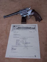 "Colt Camp Perry .22 Caliber 8"" barrel British Proofed with Roper Grips"
