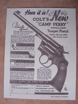 """Colt Camp Perry 8"""" in the Box as New with lots of Extras - 19 of 20"""