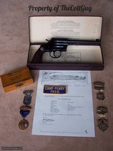 """Colt Camp Perry 8"""" in the Box as New with lots of Extras - 12 of 20"""