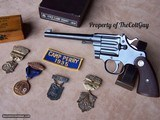 """Colt Camp Perry 8"""" in the Box as New with lots of Extras - 10 of 20"""