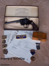 """Colt Camp Perry 8"""" in the Box as New with lots of Extras - 20 of 20"""