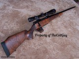 Colt Sauer .300 Weatherby Magnum with Fiberglass Stock & Redfield 4 X 12 Scope