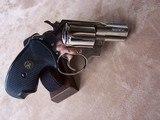 Colt Nickel Detective Special .38 Special 4th Model Excellent Condition