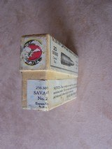 Savage Original Early Sealed Box of .250-3000 Ammo Rare Find, Very Desirable & Minty Condition - 3 of 6