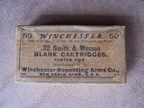 Winchester Box of .32 S&W Blank Cartridges, Vintage Box, Collectible - 2 of 6