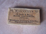 Winchester Box of .32 S&W Blank Cartridges, Vintage Box, Collectible - 6 of 6