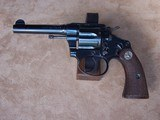 Very Rare Colt Police Positive Cut-A-Way .38 Caliber from 1928