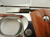 Colt 1911 Silver Star Bright Stainless NIB - 9 of 9