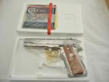 Colt 1911 Silver Star Bright Stainless NIB - 4 of 9