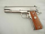 Colt 1911 Silver Star Bright Stainless NIB - 5 of 9
