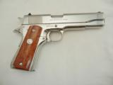 Colt 1911 Silver Star Bright Stainless NIB - 6 of 9