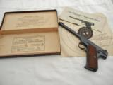 1941 Colt Woodsman Target Pre War In The Box