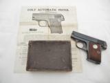 1931 Colt 1908 25 Vest Pocket In Box