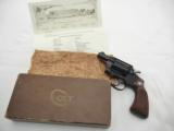1951 Colt Pre Aircrewman 2 Inch Alloy CylinderShipped To Joseph A. Lorch