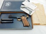 1978 Smith Wesson 52 Master 38 NIB