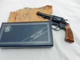 1973 Smith Wesson 33 32 S&W In The Box