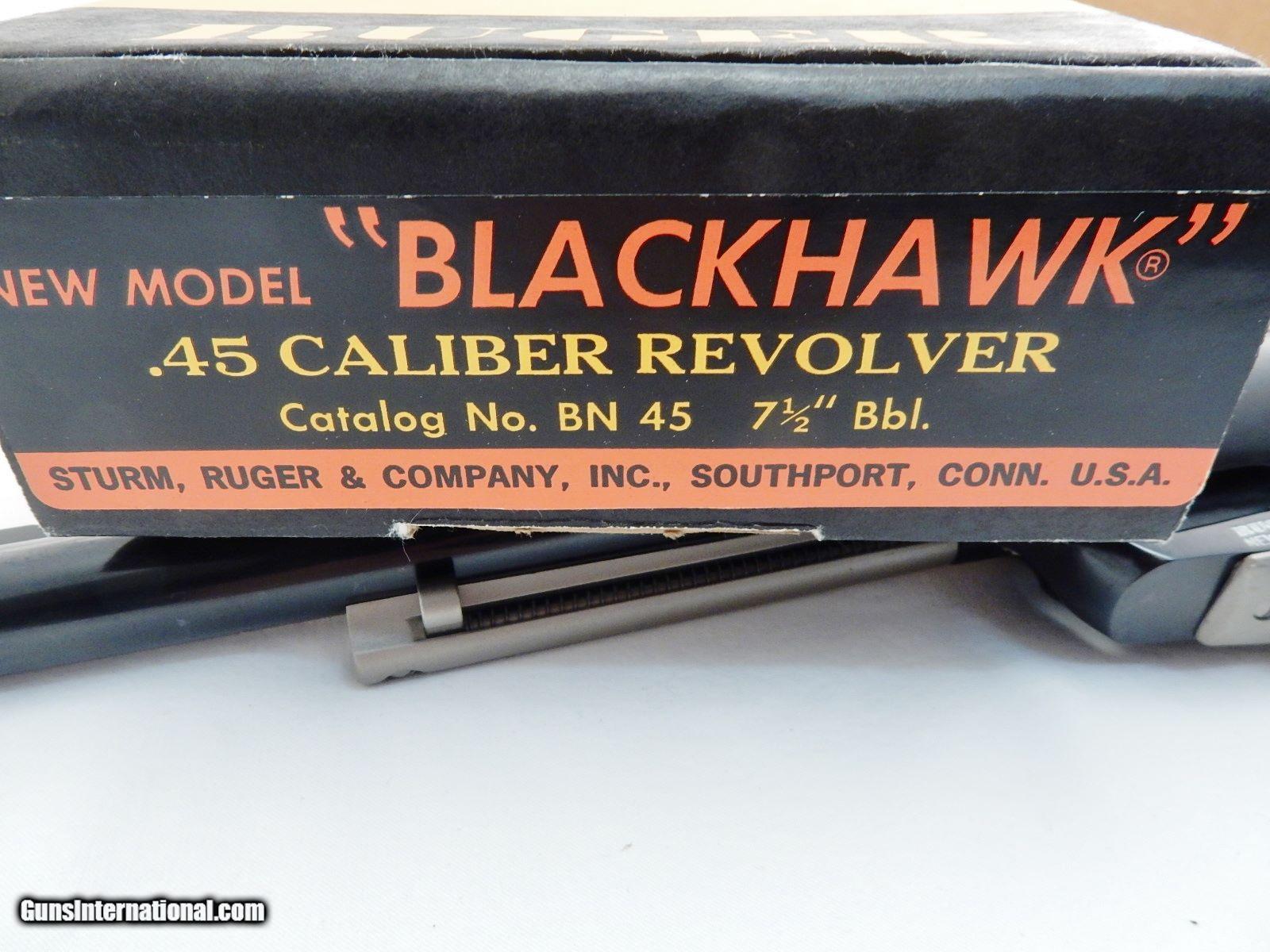 Ruger blackhawk serial number dating 8