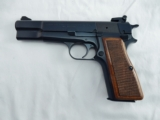 1976 Browning Hi Power 9MM Belgium New In Pouch