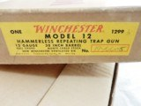 1962 Winchester Model 12 Trap Pre 64 NIB