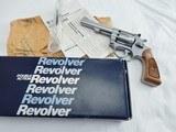 1987 Smith Wesson 63 Kit Gun NIB